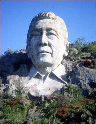 Ferdinand-Marcos-Statue