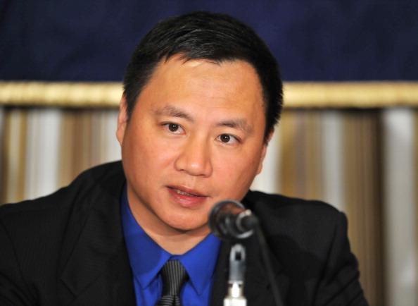 Dissident Wang Dan, a former Chinese stu