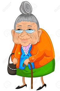16511408-Old-lady-walking-slowly-but-happily-Stock-Vector-old-cartoon-grandmother