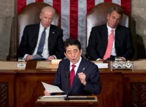 Shinzo Abe, Joe Biden, John Boehner