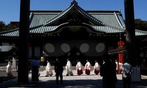 Yasukuni shrine in Japan