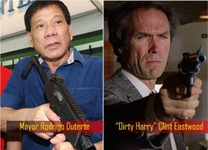 Philippine-Elections-2016-Mayor-Rodrigo-Duterte-and-Dirty-Harry-Clint-Eastwood